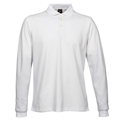 Men's Luxury L/S Stretch Polo