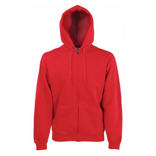 Men's Classic Hooded Sweat Jacket
