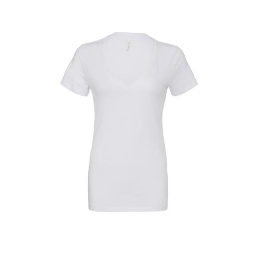 Women's S/Sleeve Deep V-Neck