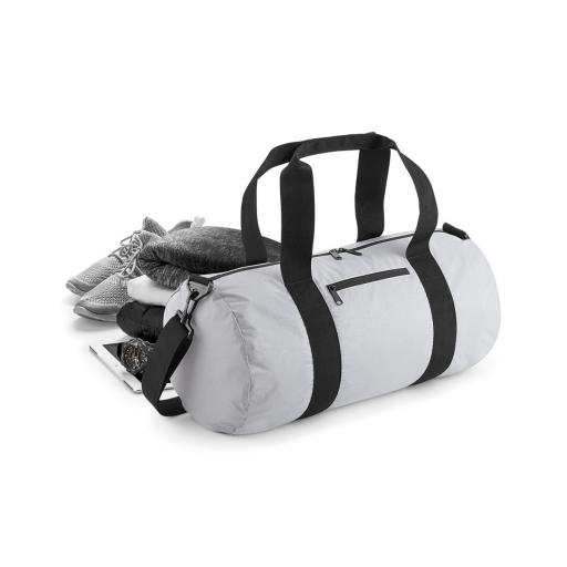 Reflective Barrel Bag