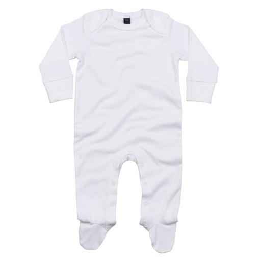 Baby Organic Sleepsuit & Scratch Mitts