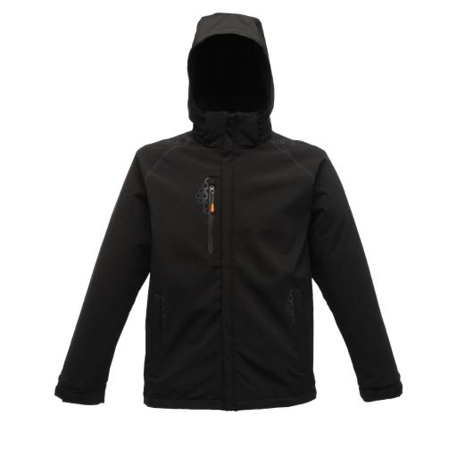 Repeller Lined Hooded Softshell