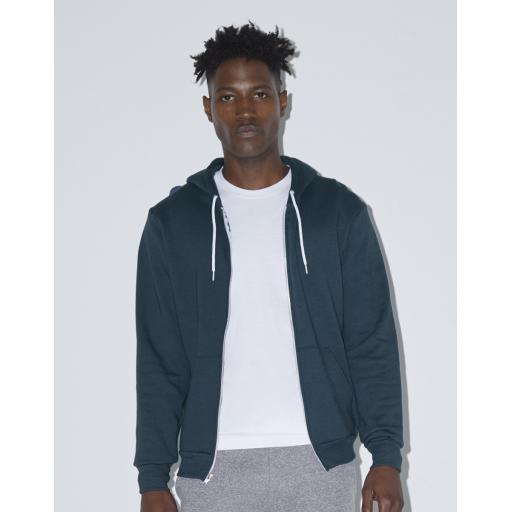 Unisex Flex Fleece Full Zip Hoodie