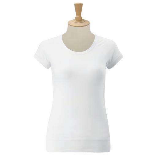 Ladies' S/Sleeve Stretch Top