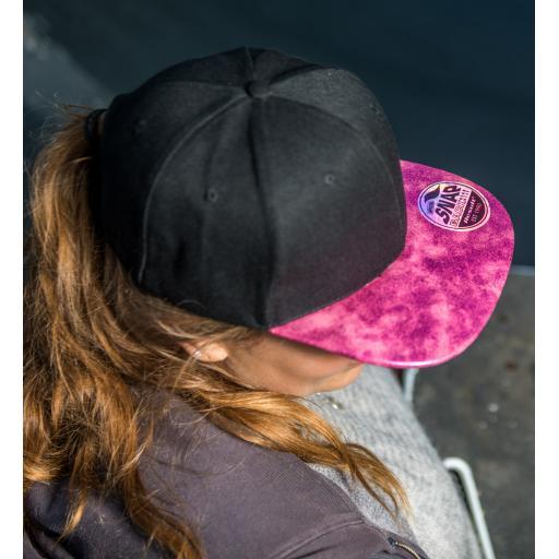 Bronx Glitter Snapback Cap