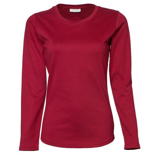 Ladies' Longsleeve Interlock Tee