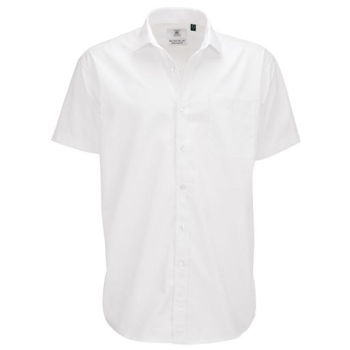 Men's Smart S/Sleeve Poplin Shirt
