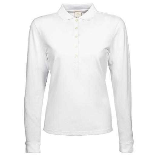 Ladies' Luxury Stretch L/S Polo