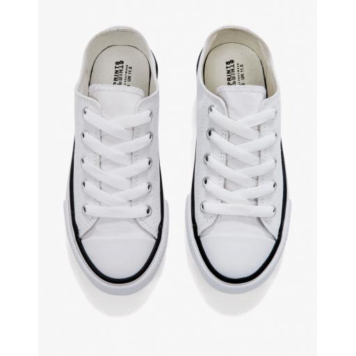 Junior Low Top Printable Canvas Shoe
