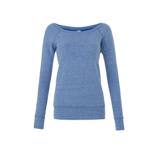 Women's Sponge Wide Neck Sweatshirt
