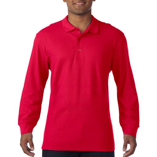 Premium Cotton Adult L/S Polo