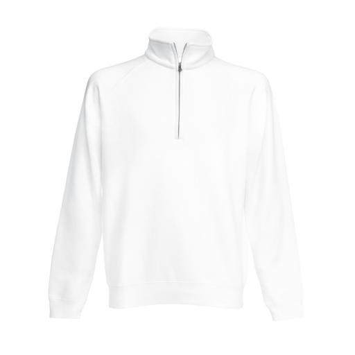 Men's Premium Zip Neck Sweat