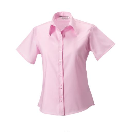 Ladies' S/Sleeve Non-Iron Shirt