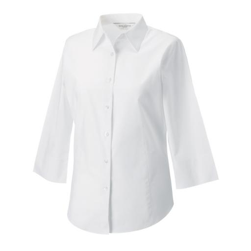 Ladies' 3/4 Sleeve Fitted Shirt