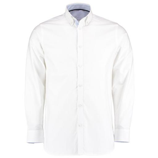 L/S Contrast Oxford Shirt