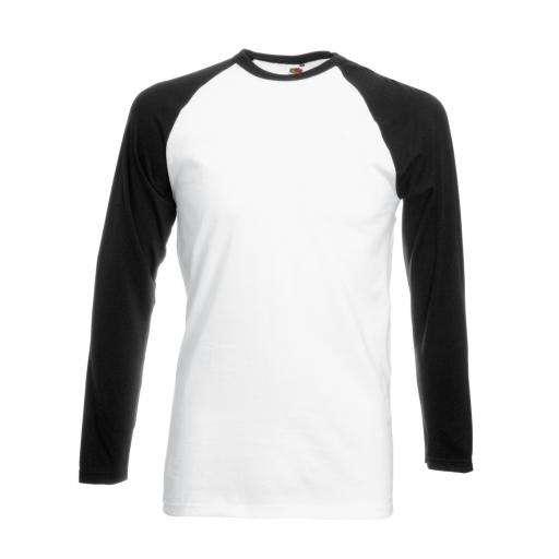 Men's Valueweight L/Sleeve Baseball T-Sh