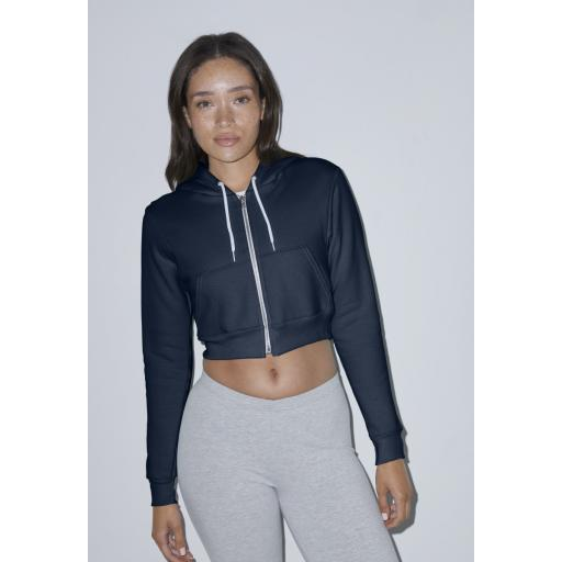 Women's Flex Fleece Cropped Zip Hoodie