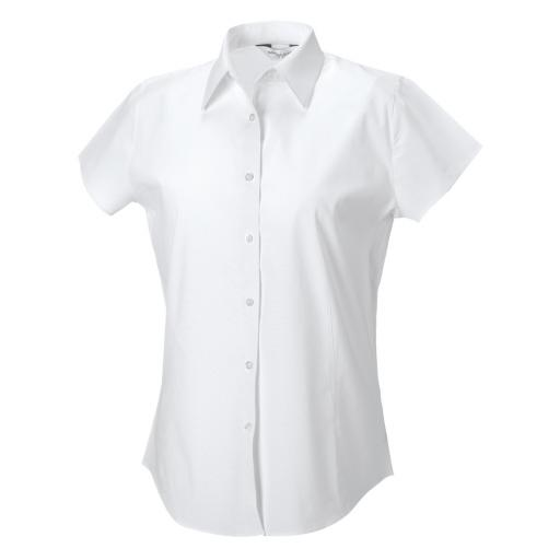 Ladies' S/Sleeve Fitted Shirt