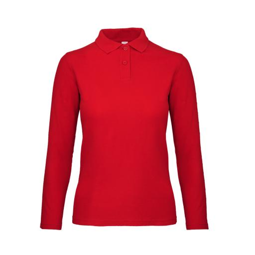 ID.001 Women's Long Sleeve Polo