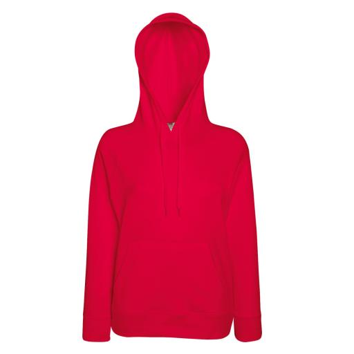 Lady-Fit L/Weight Hooded Sweat