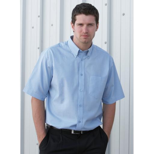 S/Sleeve Oxford Shirt