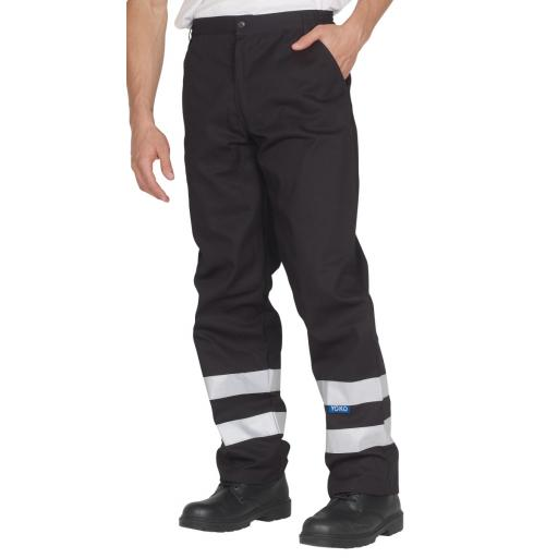Reflective Working Trousers (Reg)
