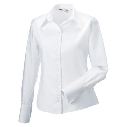 Ladies' L/Sleeve Non-Iron Shirt