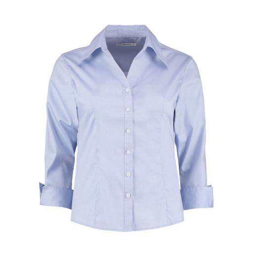 Ladies' 3/4 Sleeve Oxford Shirt
