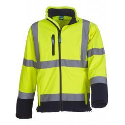 Hi-Vis Softshell Jacket