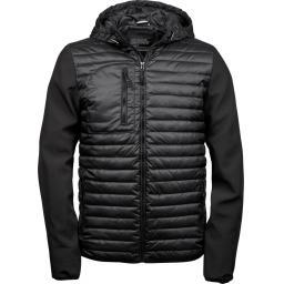 Men's Hooded Crossover Jacket