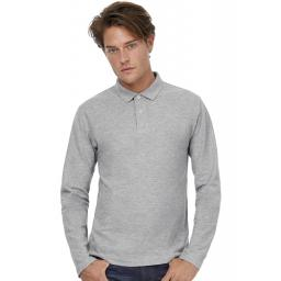 ID.001 Men's Long Sleeve Polo