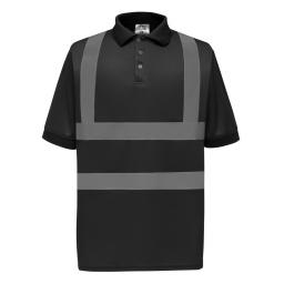 Hi-Vis Short Sleeve Polo Shirt