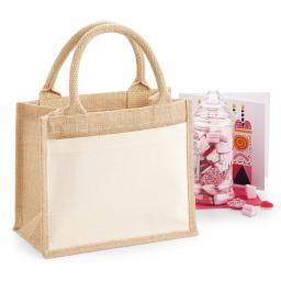 Cotton Pocket Jute Gift Bag