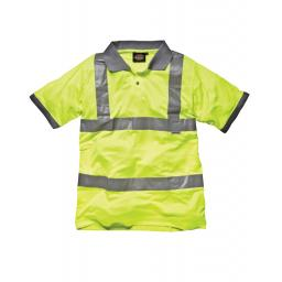 Hi-Vis Safety Polo Shirt