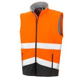 Printable Safety Softshell Gilet