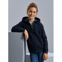 Children's Authentic Zipped Hooded Jacket