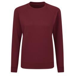 Ladies' Raglan Sleeve Crew Neck Sweatshirt