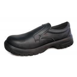 Comfort Grip Slip-On Safety Shoe