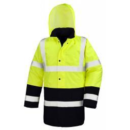 Moterway 2-Tone Safety Coat
