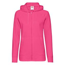 Ladies' Lightweight Hooded Sweat Jacket