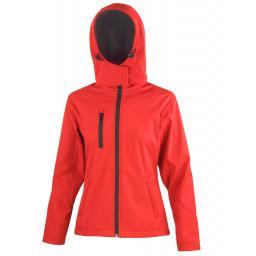 Women's TX Performance Hooded Softshell Jacket