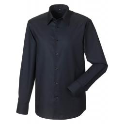 Men's Long Sleeve Easy Care Tailored Oxford Shirt