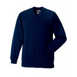 Adult V-Neck Sweatshirt