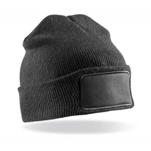 Double Knit Thinsulate® Printers Beanie