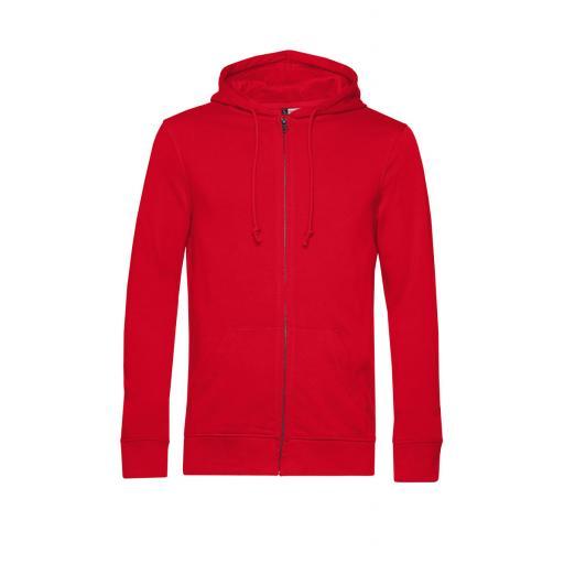 Men's Organic Zipped Hood