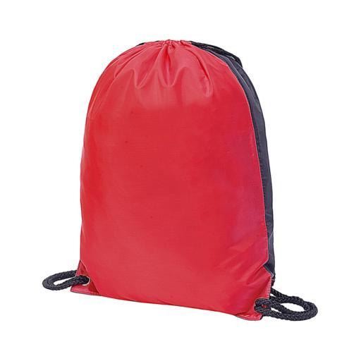 Stafford Contrast Drawstring Bag