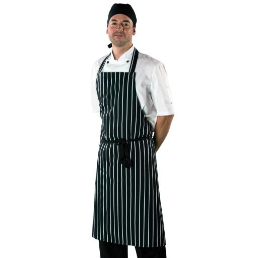 Large Cotton Striped Apron
