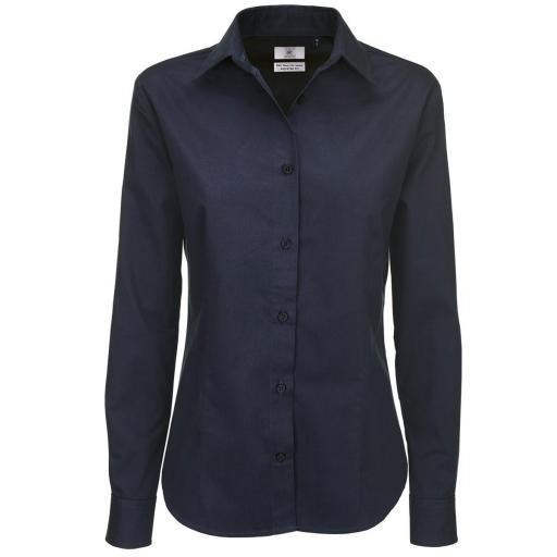 Women's Sharp Twill Long Sleeve Shirt