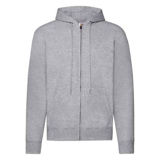 Men's Classic Hooded Sweat Jacket