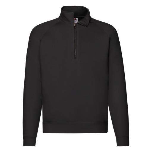 Men's Premium Zip Neck Sweat